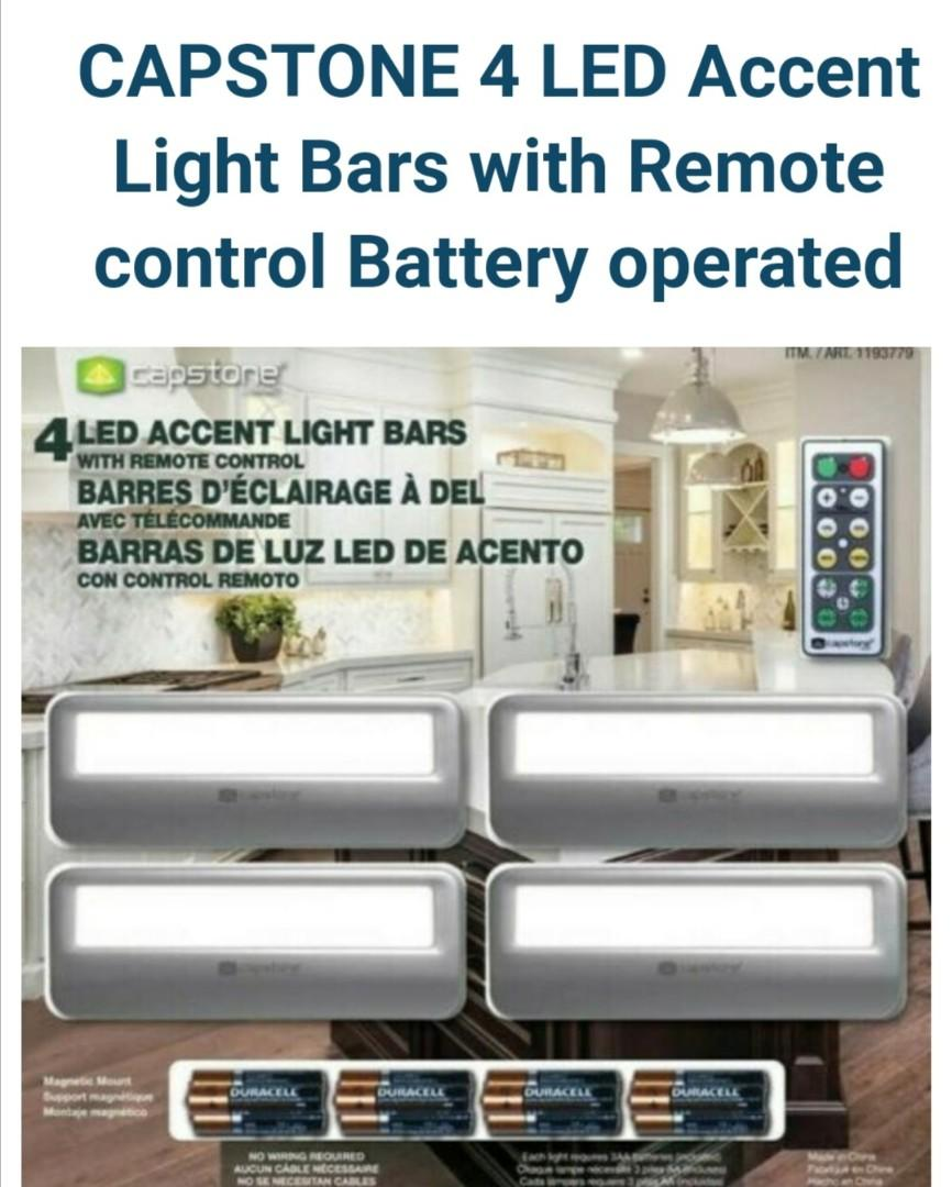 capstone led accent battery operated