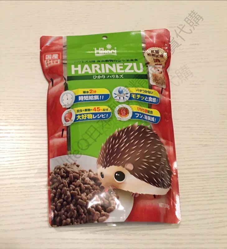 日本Harinezu 刺猬水果糧300g, 寵物用品, 寵物食品 - Carousell