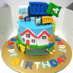 Garbage Truck Cake Food Drinks Baked Goods On Carousell