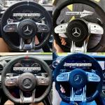 Amg Gt Steering Wheel For Most Mercedes Models Car Accessories Accessories On Carousell