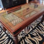 Teak Wood Coffee Table Furniture Tables Chairs On Carousell