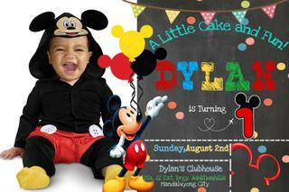 birthday and baptism invitations view