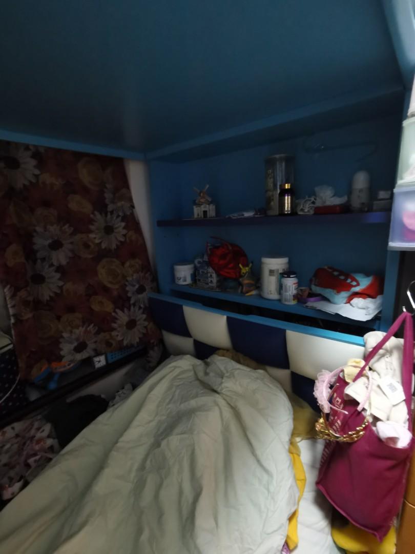 兒童床 上下格 實木, 手作產品 & 飾物 - Carousell