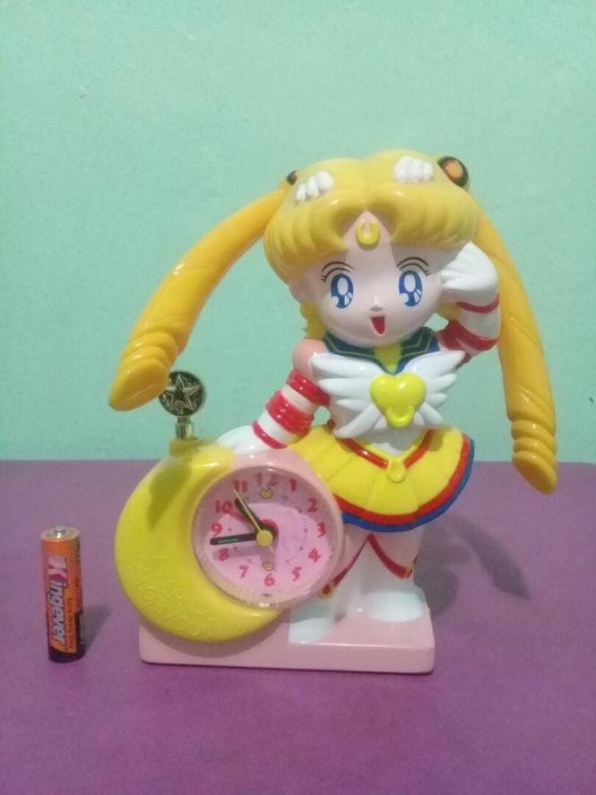 Vintage Sailor Moon Alarm Clock