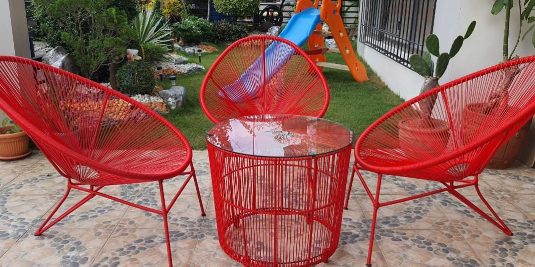 garden set outdoor chair set acapulco