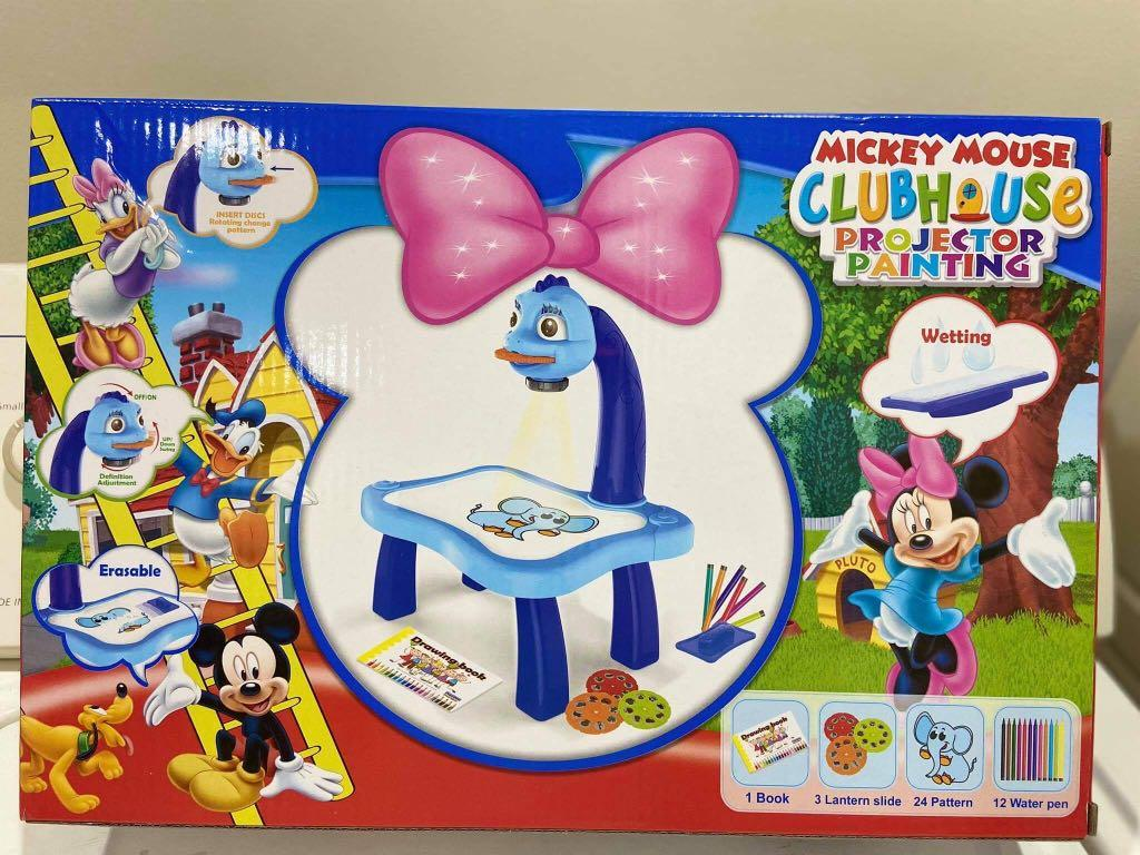 Mickey Mouse Clubhouse Projector Painting Toys Games Toys On Carousell