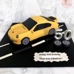 Customised 3d Car Cake Porsche 993 Food Drinks Baked Goods On Carousell