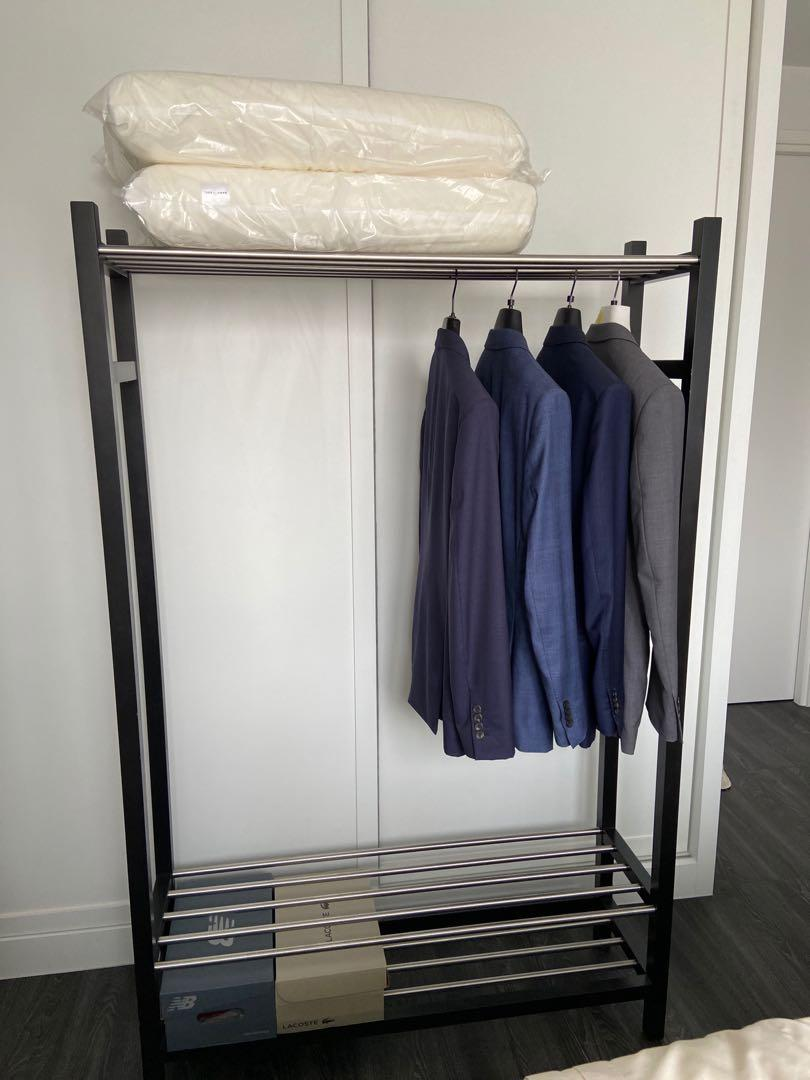 ikea clothing rack furniture others
