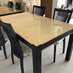 Price To Clear Marble Top Dining Table And Chairs Furniture Tables Chairs On Carousell