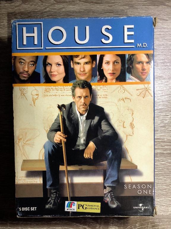 preloved house md tv show complete season 1 dvd set
