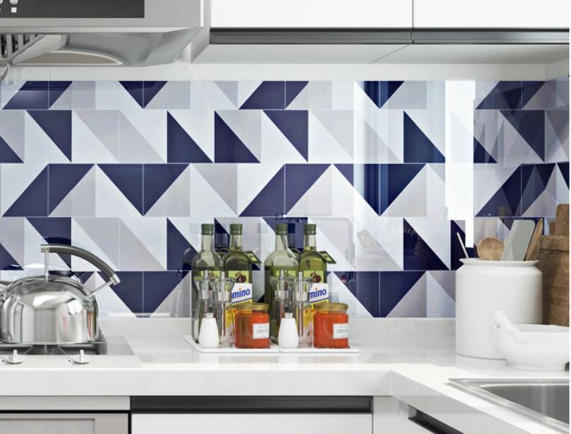 kitchen back splash self adhesive wallpaper wall sticker contact paper furniture cabinet table top wrap decal vinyl home decor