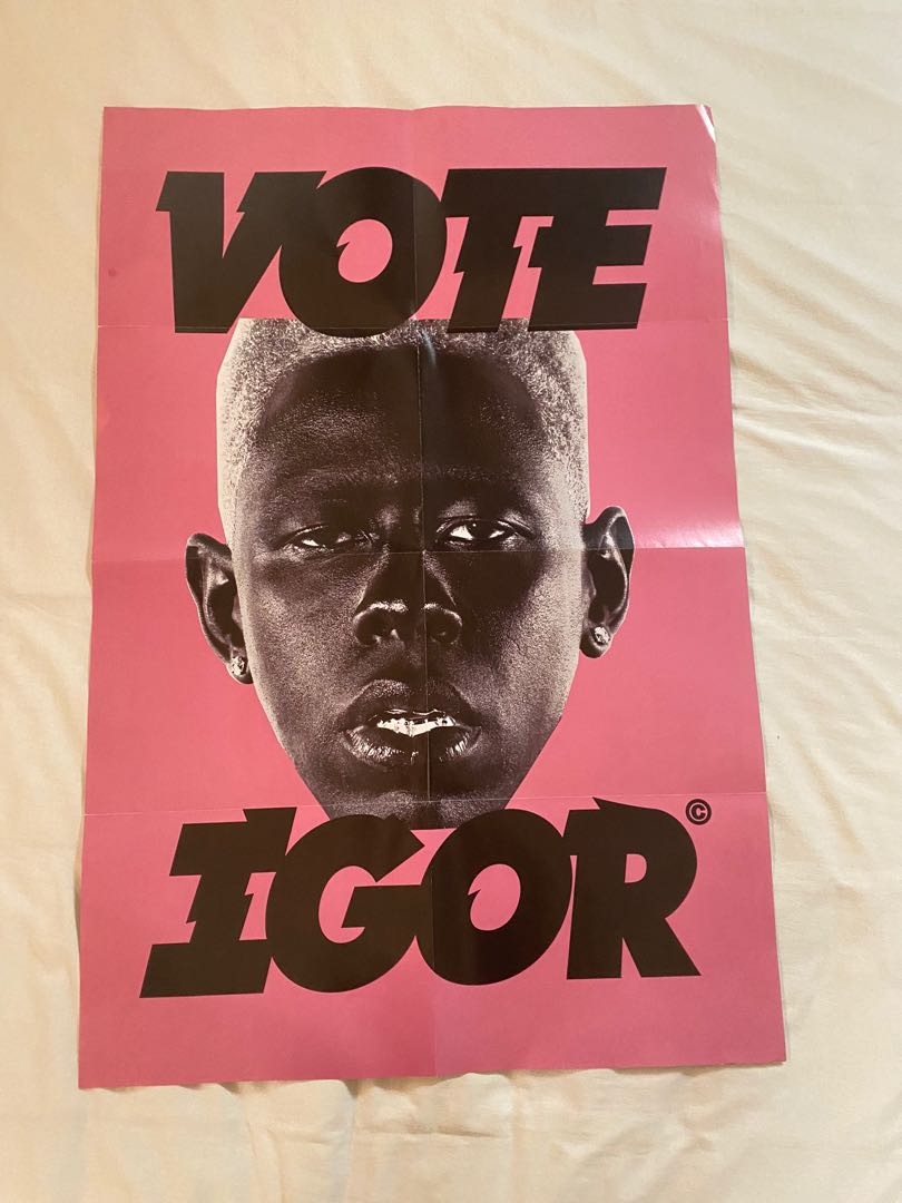 tyler the creator igor poster