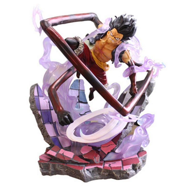 A normal human wouldn't be able. Anime One Piece Gk Monkey D Luffy Gear 4 Snake Form Pirate Statue Figure Model Toy Hobbies Toys Toys Games On Carousell