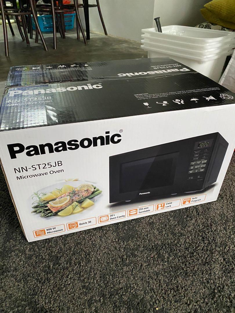 new panasonic microwave oven with 5 years warranty