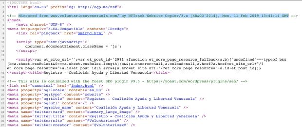 Gobierno venezolano manipula DNS de la campaña de ayuda humanitaria y redirige el tráfico a sitio falso