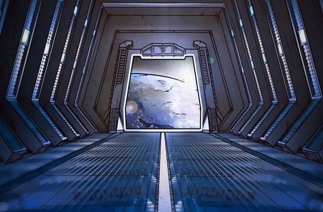 Solo: A Star Wars Story gives us a look at the security of some unusual objects: border control at Corellia, the conveyex railway on the Vandor-1, and the privately owned Kessel ore-mining complex.