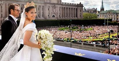 Kronprinsessan får sin prins