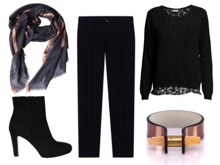Snygga kläder för kontoret, stilen dramatisk och dressad och du kan enkelt gå afterwork efter jobbet.