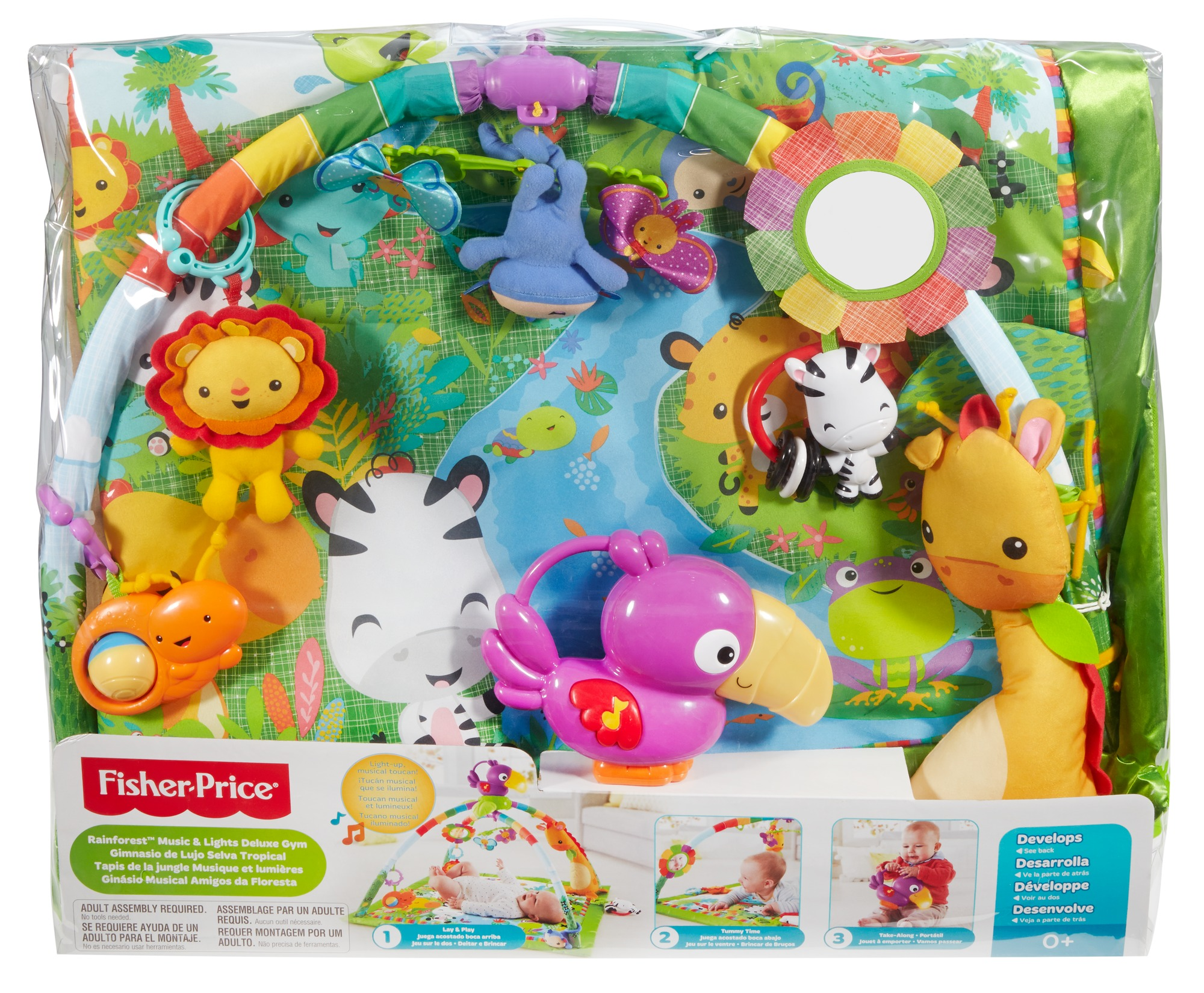 fisher price rainforest erlebnisdecke dfp08