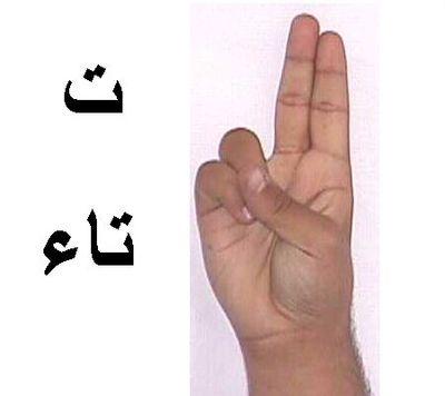 الحروف العربية بلغة الإشارة للمعاق سمعيا بوابة بيوتنا للأسرة