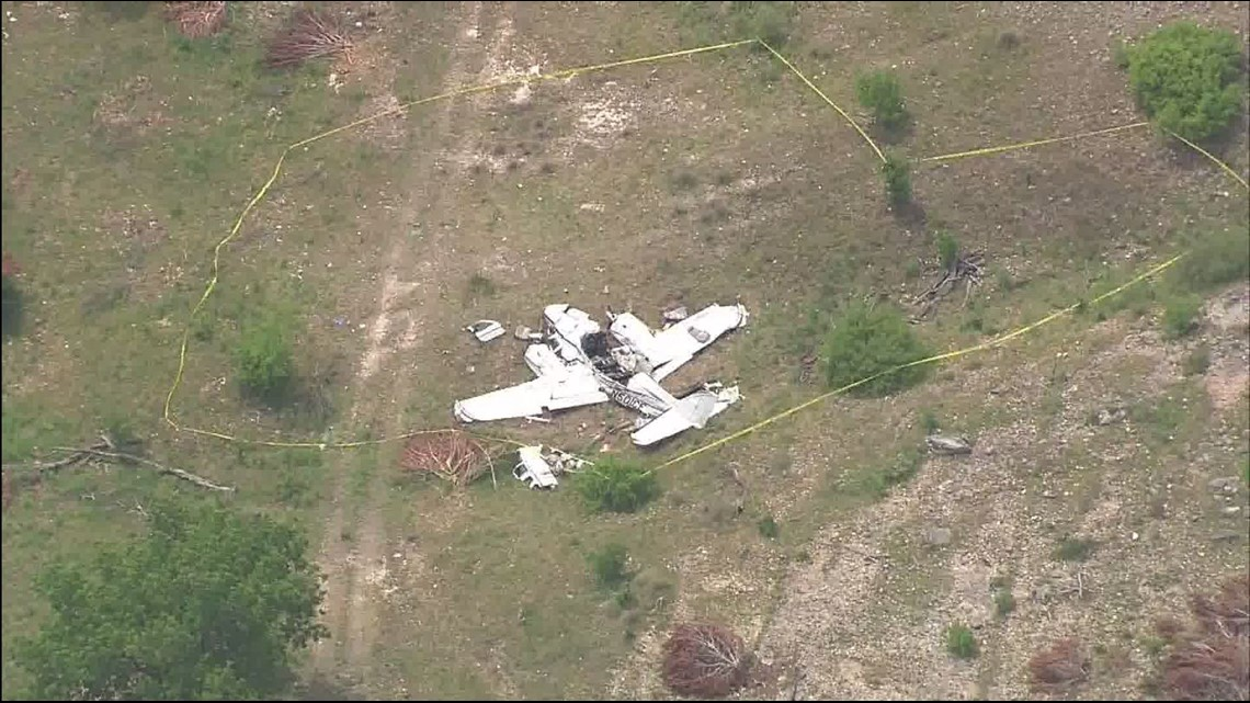 Texas Plane Crash At Least 5 Dead When Plane From Houston