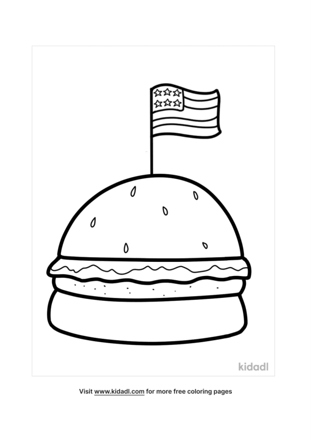 USA Flag Coloring Pages  Free World, Geography & Flags Coloring