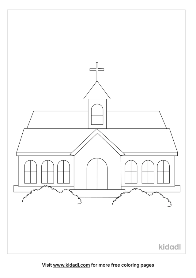 Church Lds Coloring Pages  Free Bible Coloring Pages  Kidadl