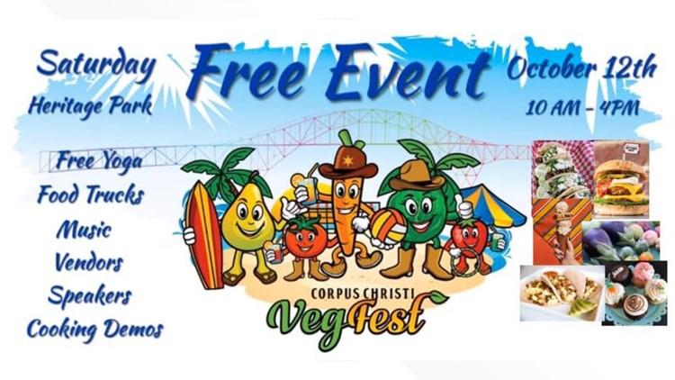 Plant-based goodies at the Corpus Christi VegFest