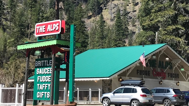The Alps Is A Sweet Treat Stop Along Highway 2