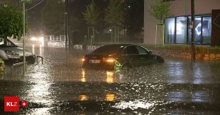 Hail and storm operations: Up to 160 liters of rain: Several storms hit in full force in Graz – Kleine Zeitung