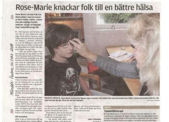 Rose-Marie Larsson - Tankefältterapi
