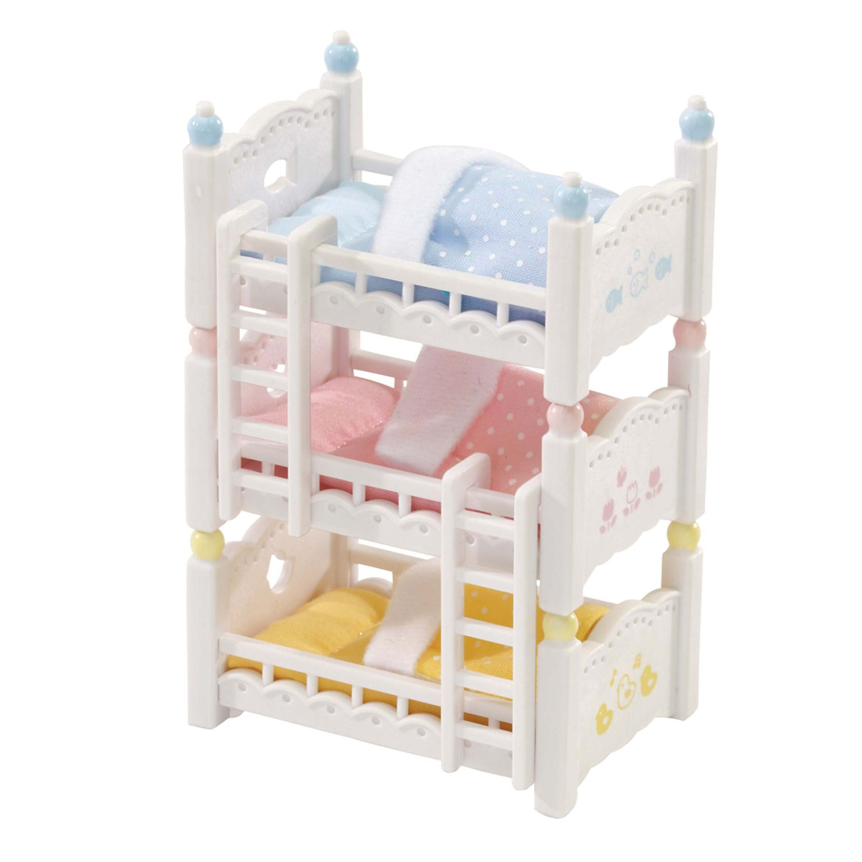 Calico Critters Triple Baby Bunk Beds Set Kohls