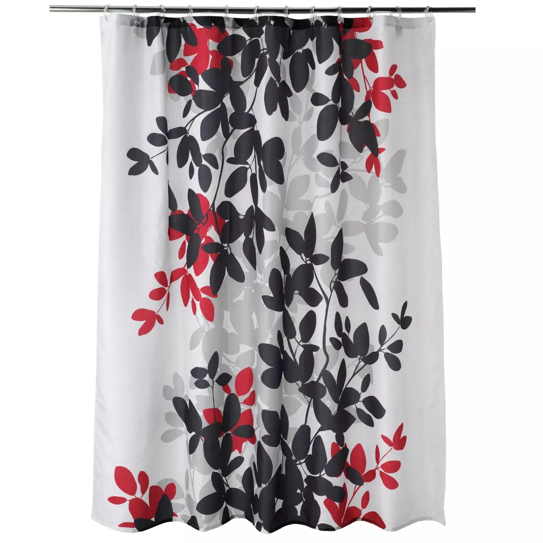 apt 9 zen leaf fabric shower curtain