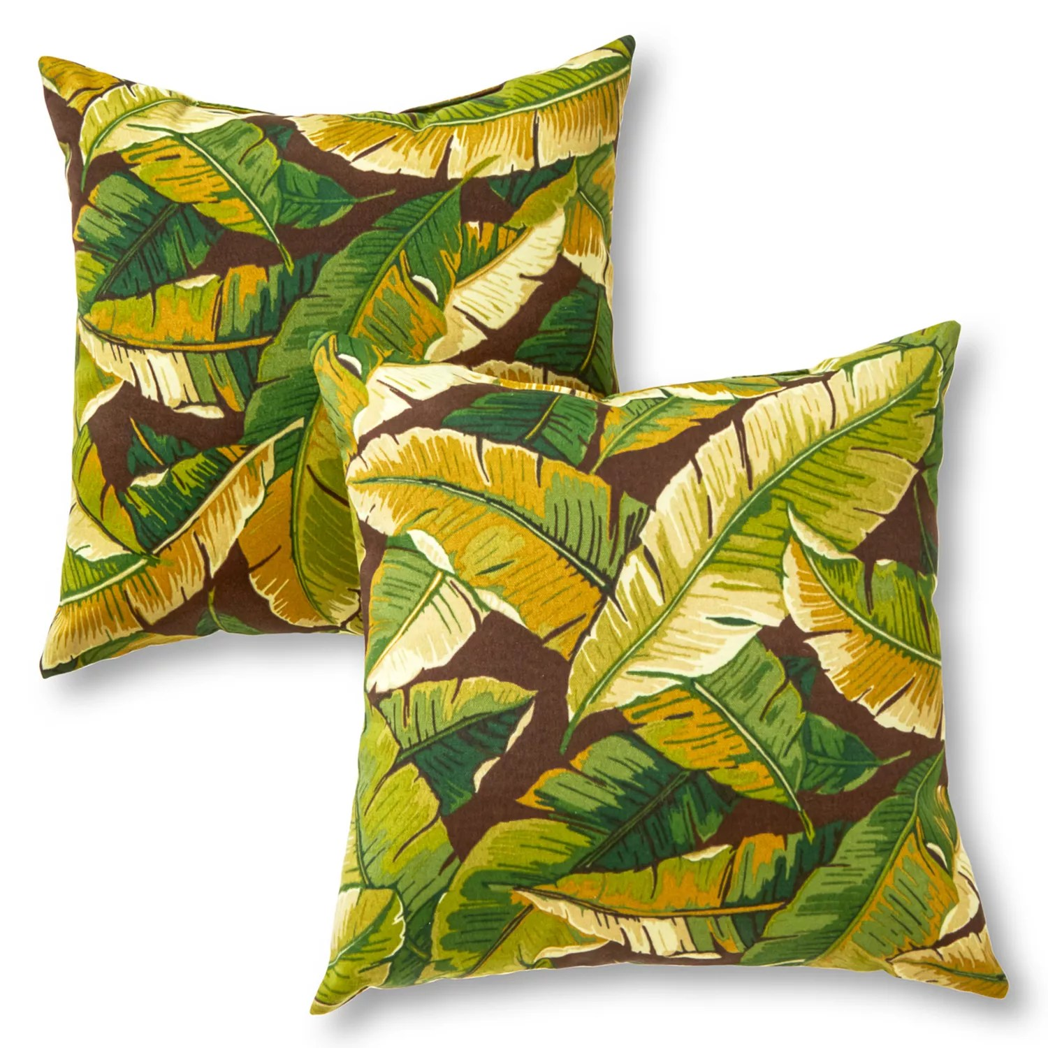 greendale home fashions 2 piece outdoor throw pillow set