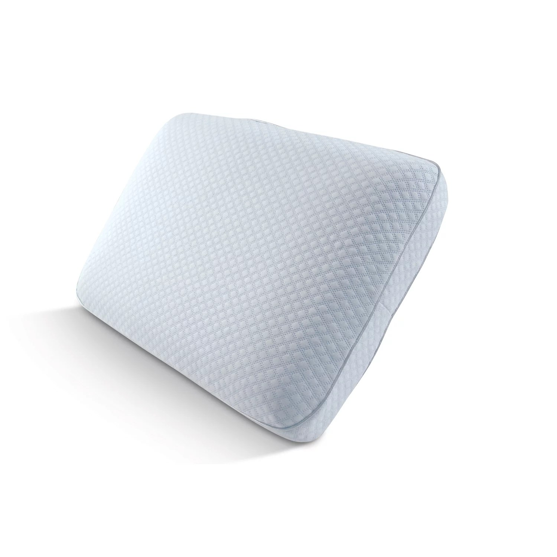 arctic sleep by pure rest big soft cooling gel memory foam pillow standard