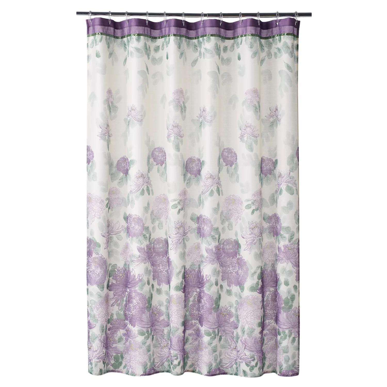 Home Classics Francesca Fabric Shower Curtain