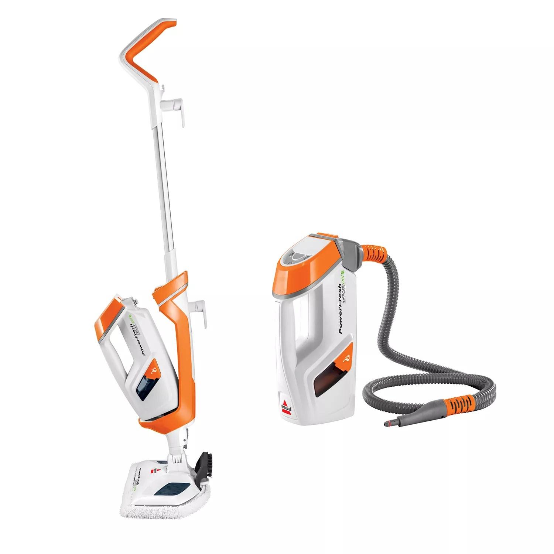 bissell powerfresh lift off pet steam mop