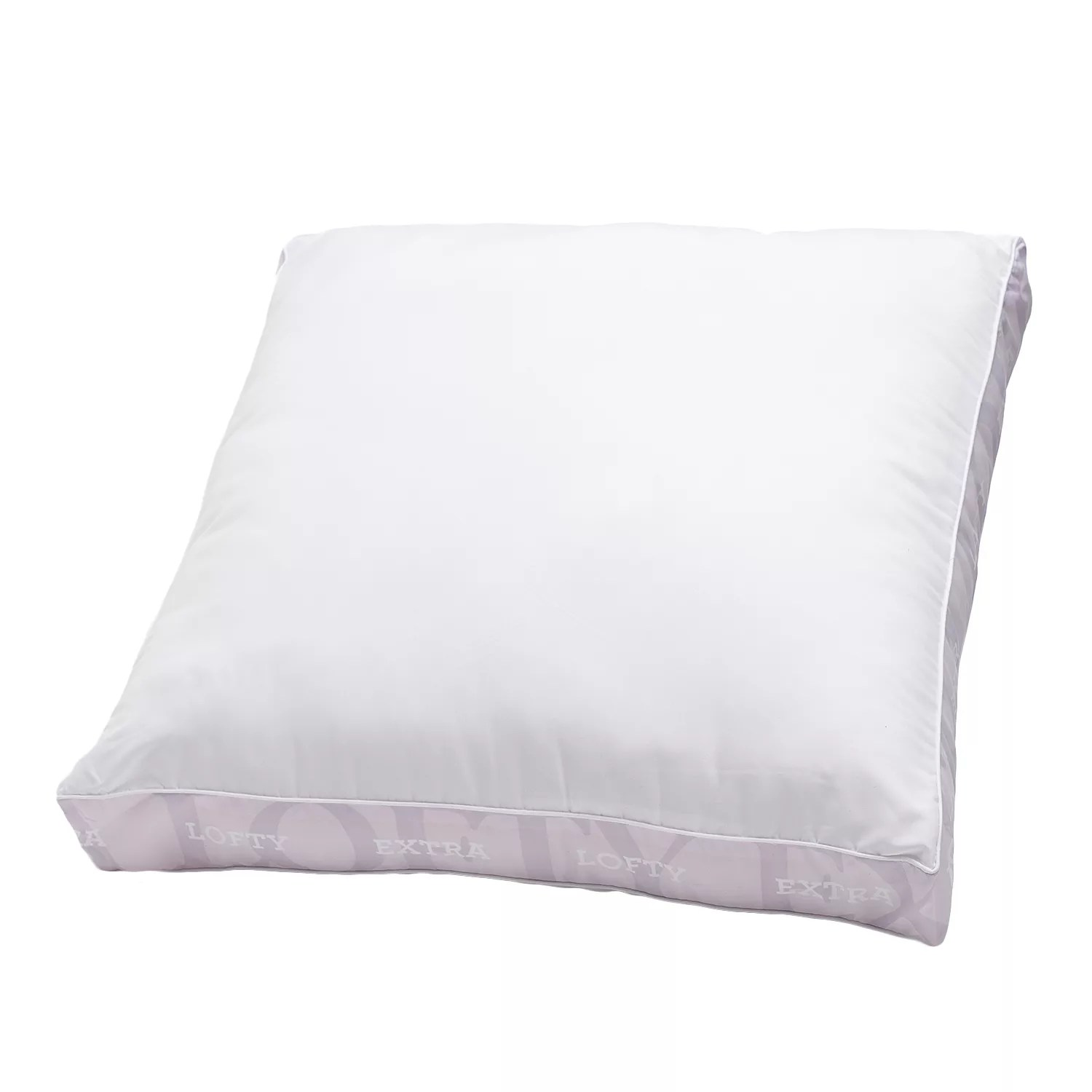 won t go flat extra firm euro square pillow