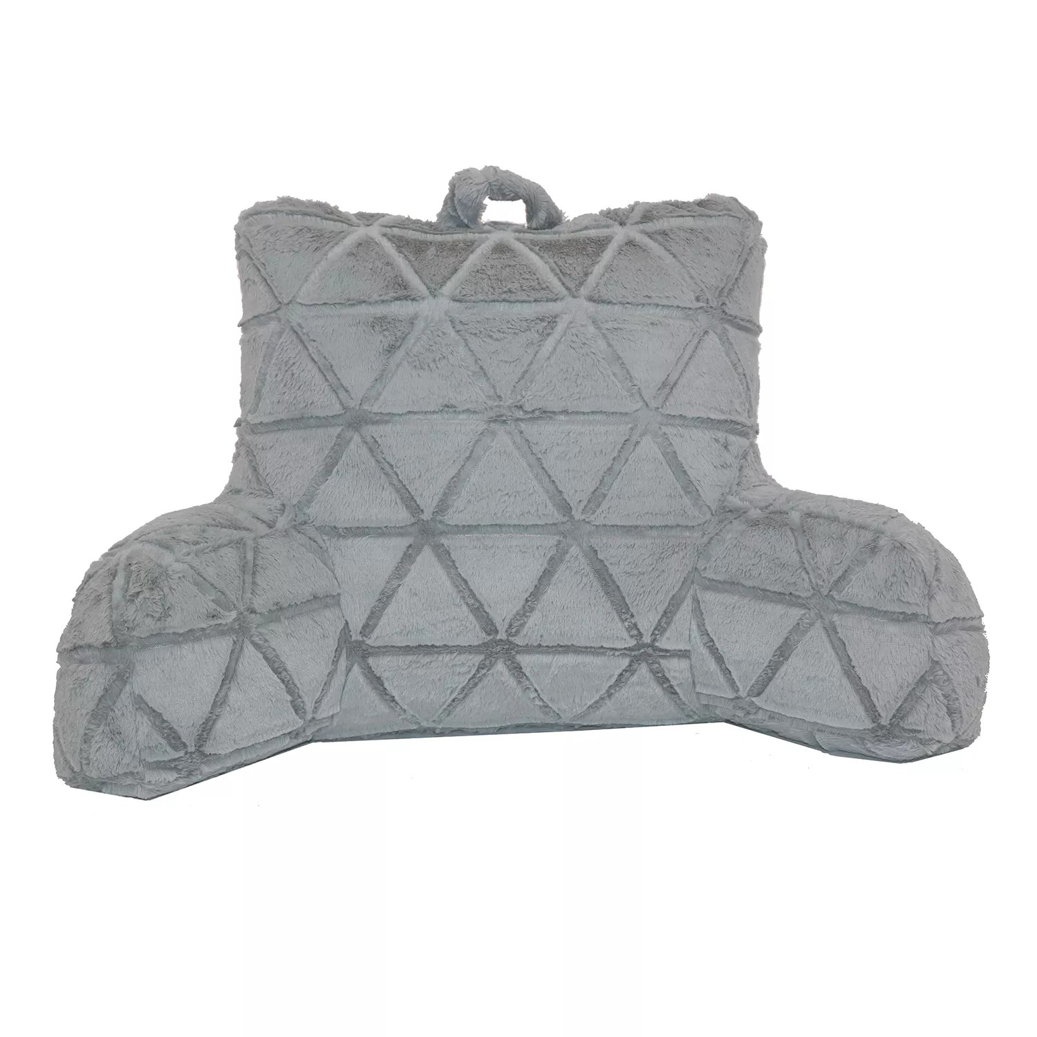 the big one faux fur bed rest pillow