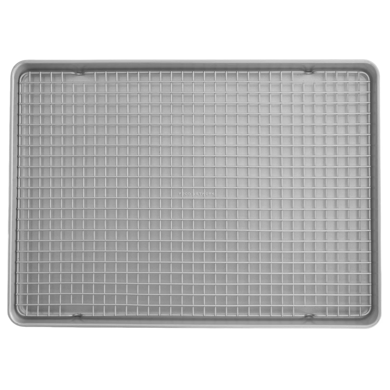 food network mega cookie sheet with cooling rack
