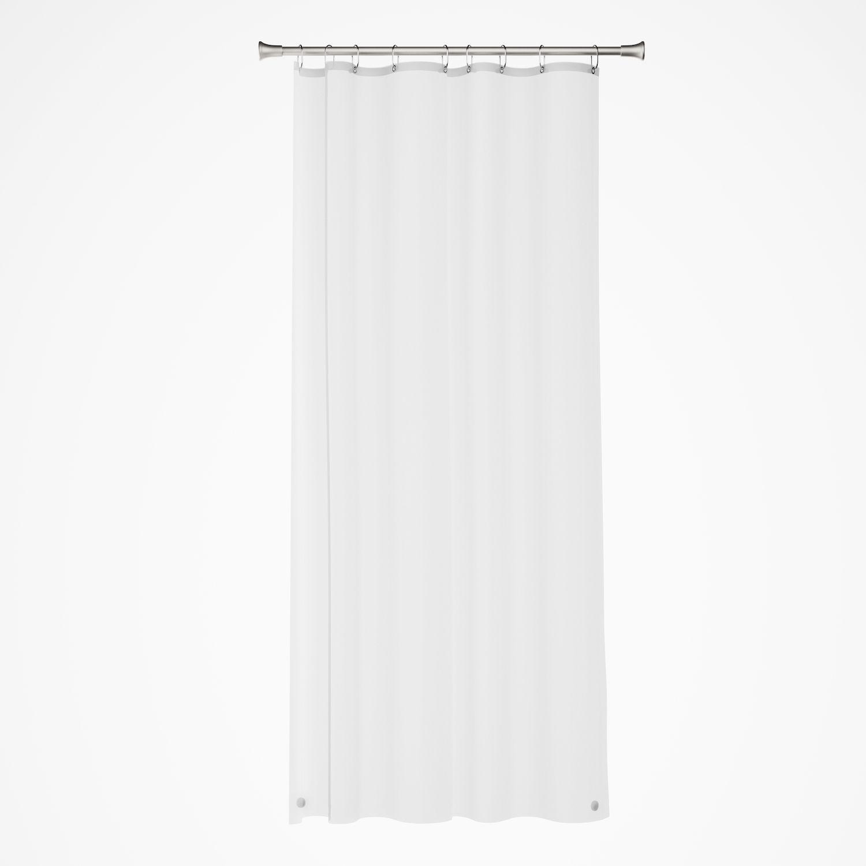 sonoma goods for life medium weight peva stall shower curtain liner