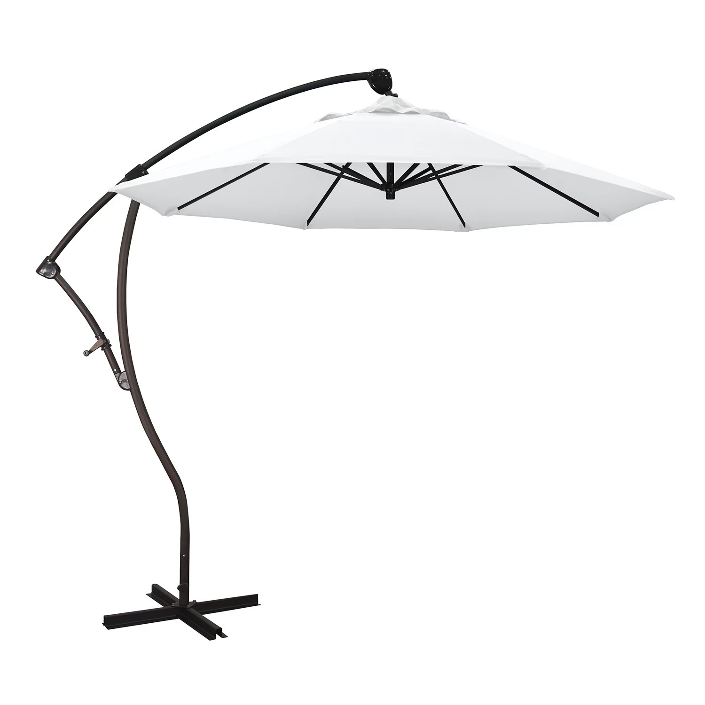 california umbrella 9 ft bayside cantilever patio umbrella