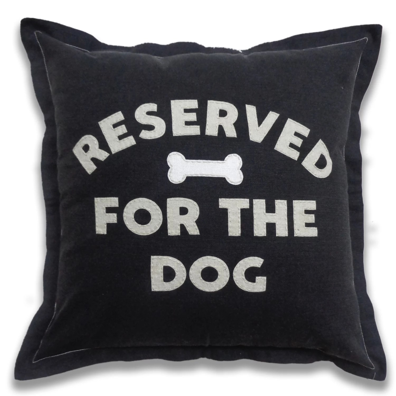 sonoma goods for life ultimate reserved for the dog feather fill throw pillow