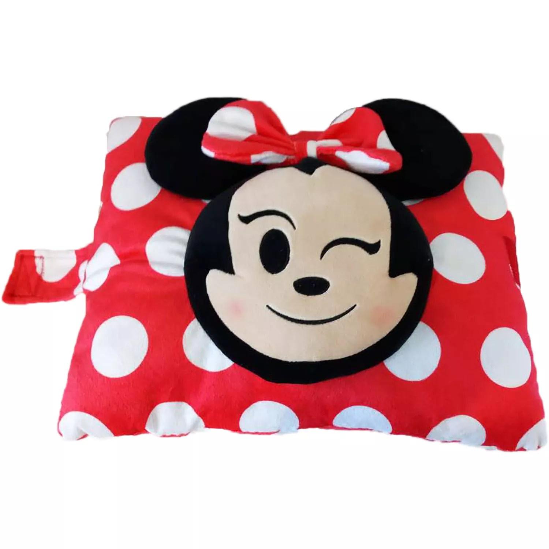 disney s minnie mouse emoji stuffed plush toy by pillow pets