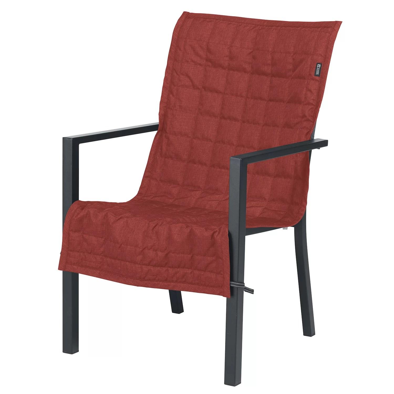 classic accessories montlake fadesafe indoor outdoor patio chair slipcover