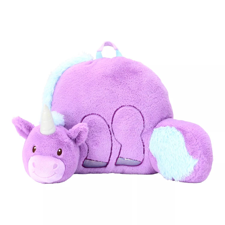 soft landing nesting nooks unicorn character backrest