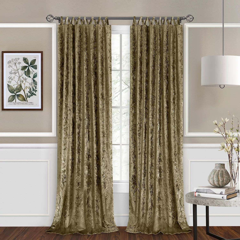 achim harper criss cross window curtain panel