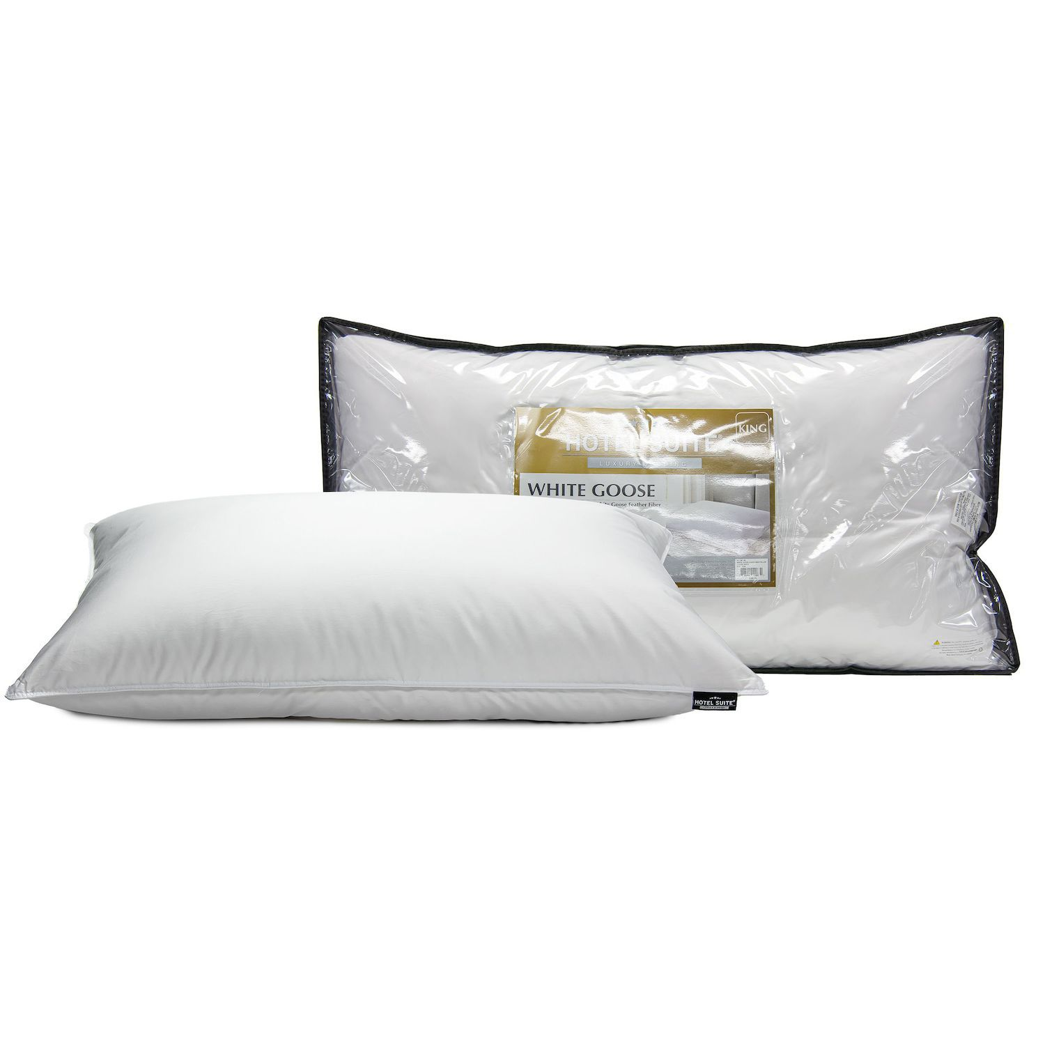 hotel suite white goose down soft pillow