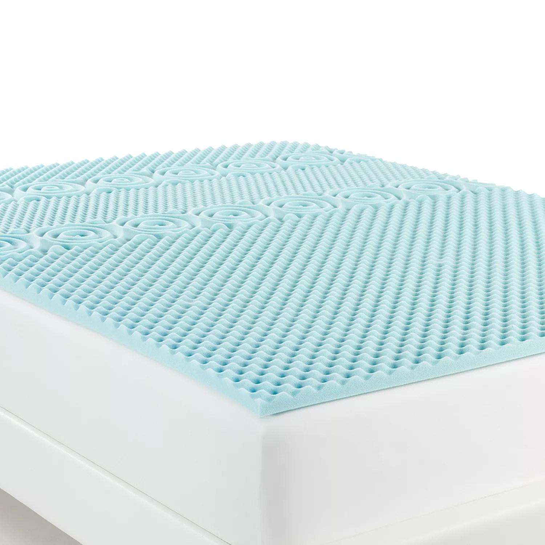 mattress toppers foam gel and pillow