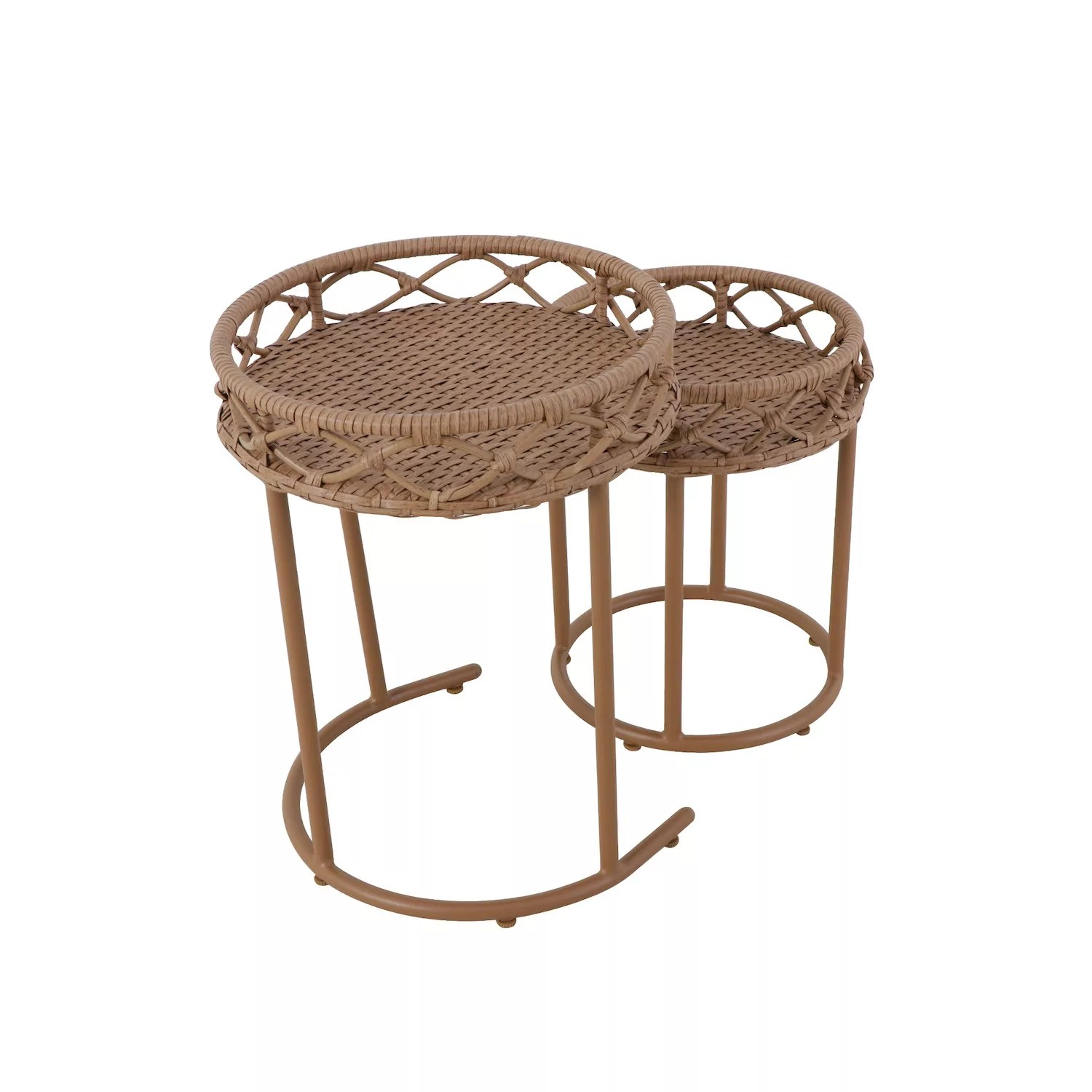sonoma goods for life tramonto set of two nesting side tables